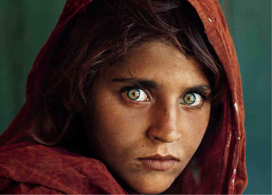 Steve McCurry. Afgan girl
