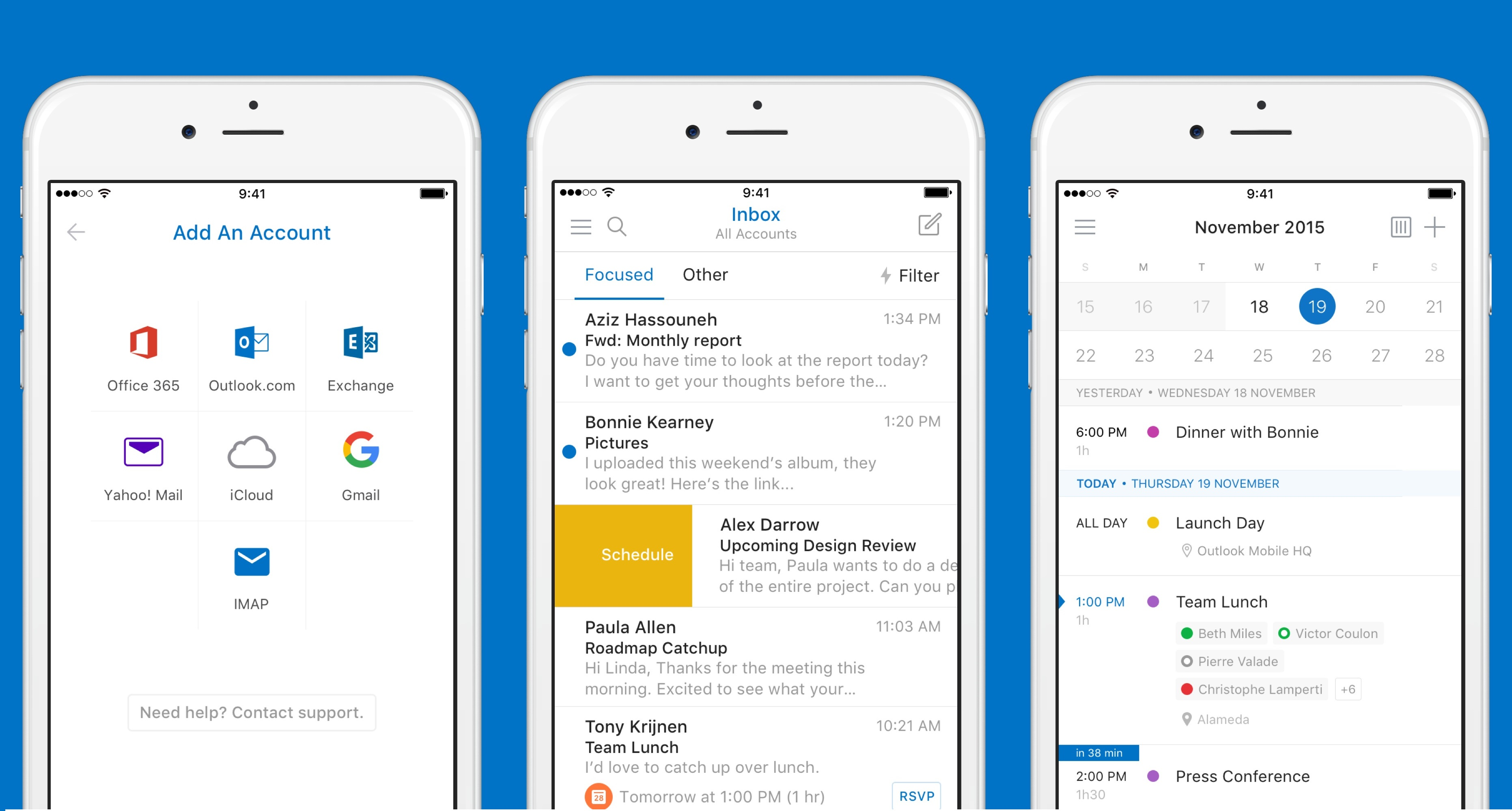 Microsoft Outlook Iphone