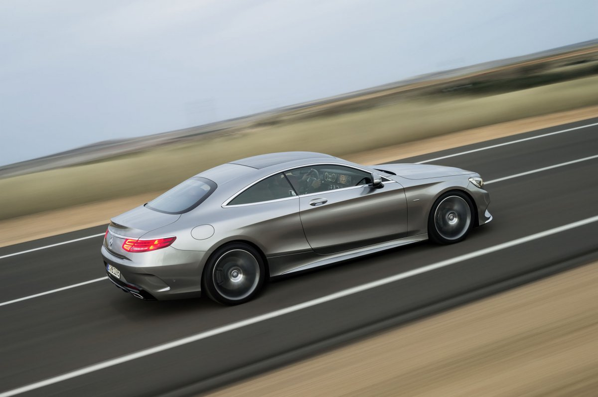Mercedes-Benz S-Class Coupe (1)