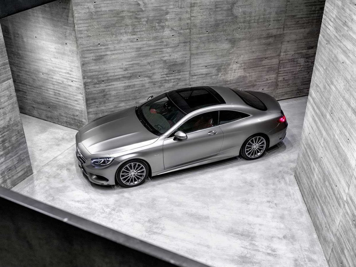 Mercedes-Benz S-Class Coupe (4)