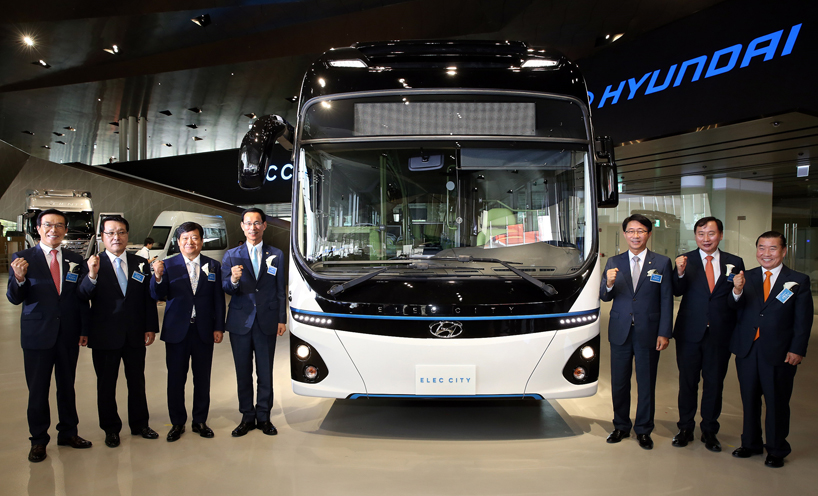 Hyundai Elec City электро автобус (1)
